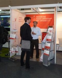 Lektorenverband VFLL Stand auf der Buchmesse Frankfurt