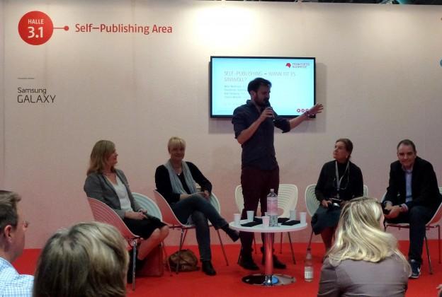 Lektorenverband VFLL Diskussion mit Nele Neuhaus auf der Buchmesse Frankfurt 2014