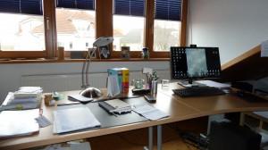 Für manche gilt das durchaus als freier Schreibtisch (Foto: UGS)