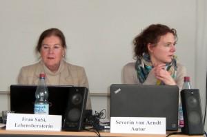 Friederike Schmitz und Thirza Albert brauchen sich nicht hinter falschen Namen zu verstecken