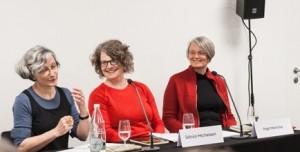 Übersetzungsatelier mit Verena Stössinger (links) bei den 37. Solothurner Literaturtagen (Bild: Ludwig+Heinzen)