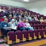 Die Lecture Hall füllt sich. Bild: Walter Greulich