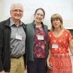 Walter Greulich, Lucy Metzger und Christine Vaughan