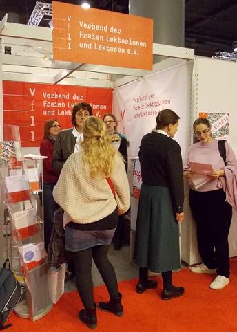 Der Lektorenverband VFLL auf der Frankfurter Buchmesse: Lektoratssprechstunde