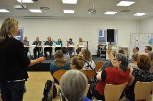 Diskussion über Sprachwandel beim Lektorenverband VFLL