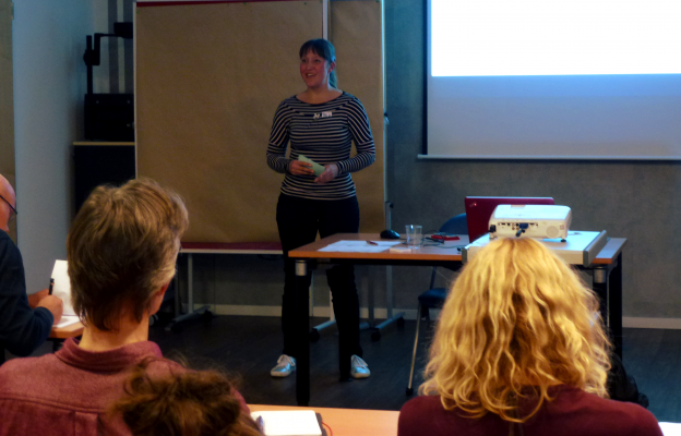 Lektorenverband VFLL beim Texterverband Workshop Henrike Doerr