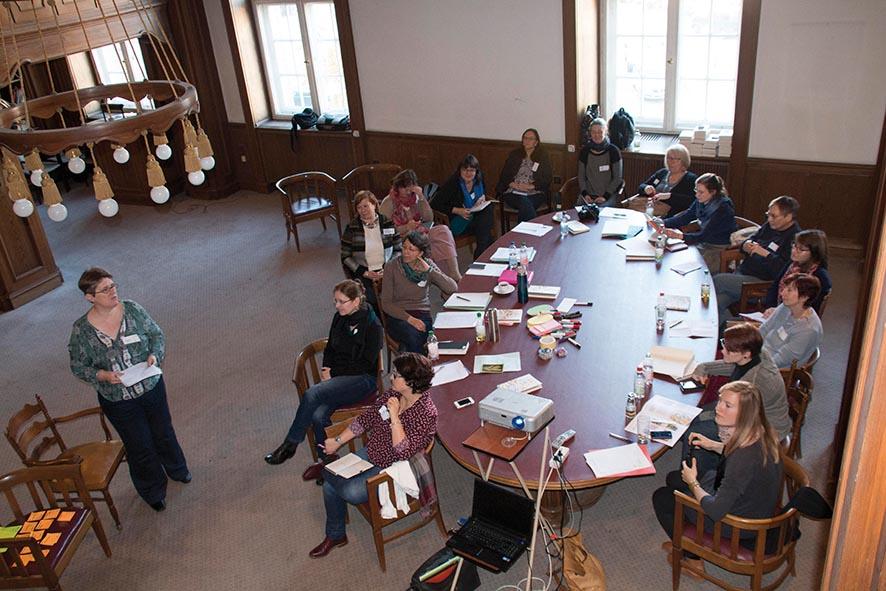 BücherFrauen-Jahrestagung 2016: Workshop Crowdfunding