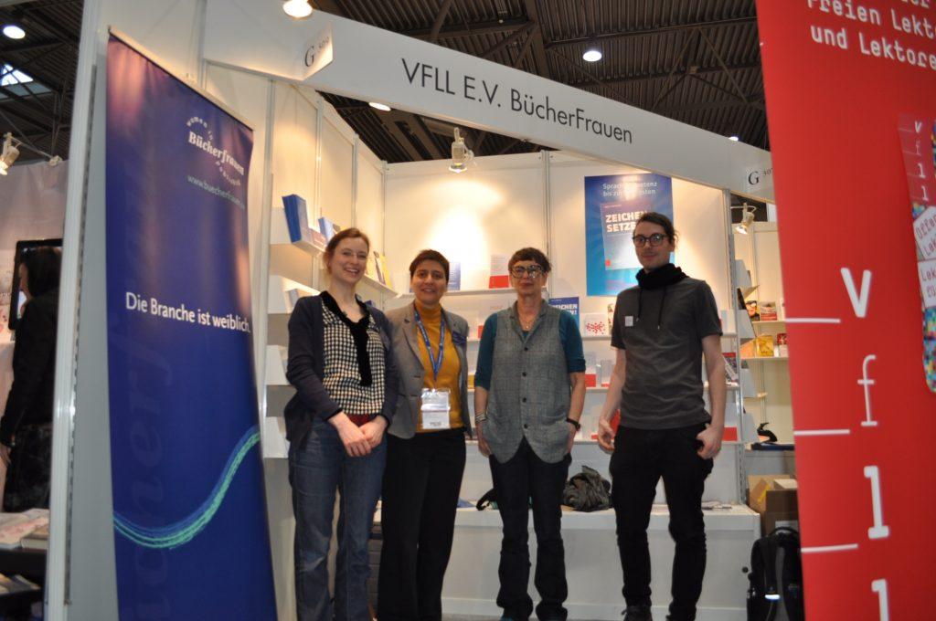 Lektorenverband VFLL auf der Leipziger Buchmesse Stand