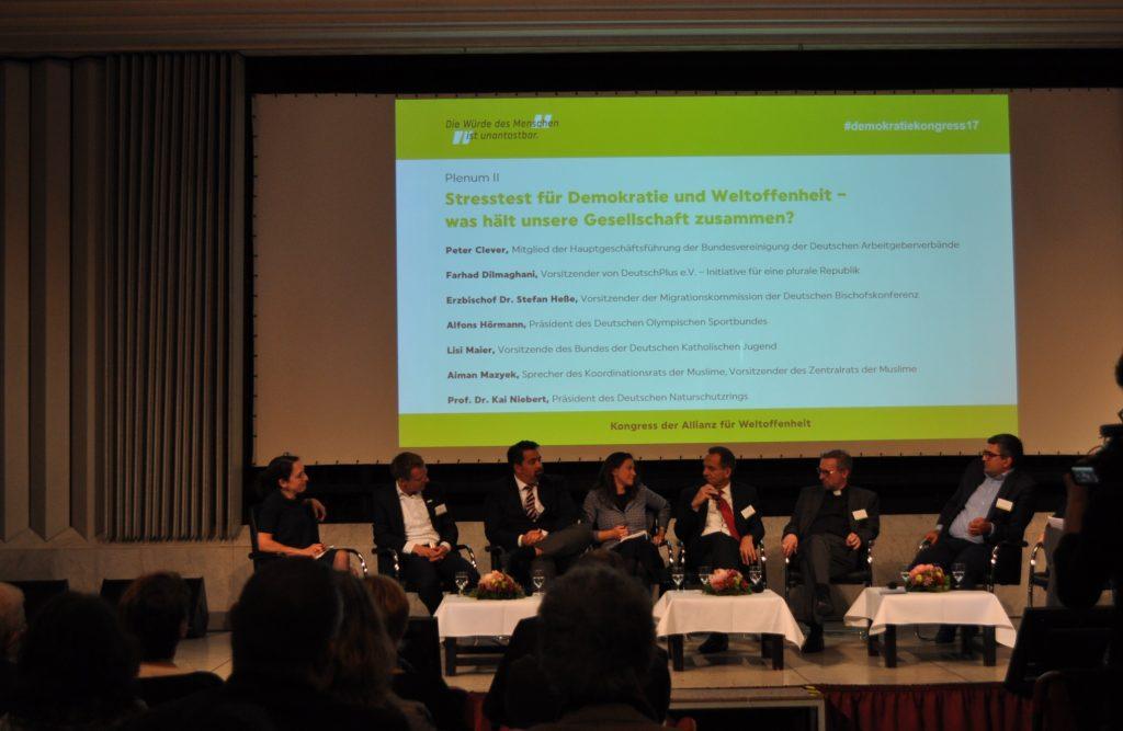 Lektorenverband VFLL Demokratiekongress Allianz für Weltoffenheit