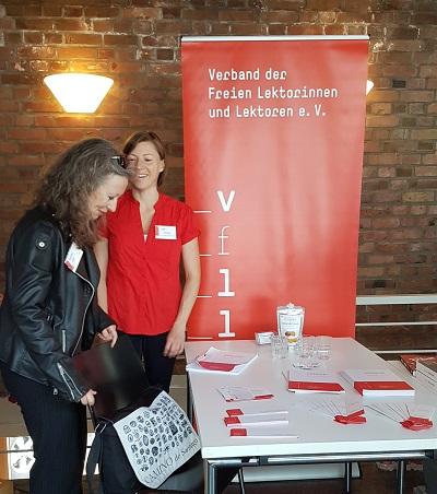 Der Lektorenverband VFLL auf der narrativa Frankfurt