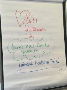 """Herzlich willkommen zu """"Leicht (neue) Kunden gewinnen""""!"""