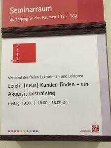 """VFLL-Seminar zum Thema """"Leicht (neue) Kunden gewinnen"""""""