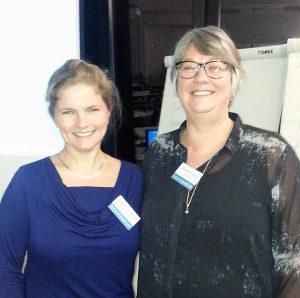 Die beiden Referentinnen und VFLL-Kolleginnen Susanne Franz und Sylvia Jakuscheit
