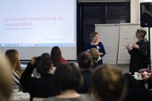 m Workshop der beiden VFLL-Kolleginnen Susanne Franz und Sylvia Jakuscheit