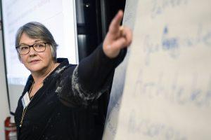 Im Workshop der beiden VFLL-Kolleginnen Susanne Franz und Sylvia Jakuscheit