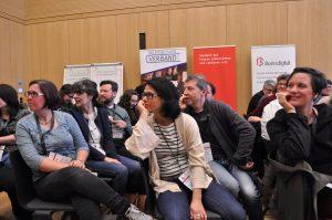 Der Lektorenverband VFLL auf dem Literaturcamp Bonn Vorstellungsrunde