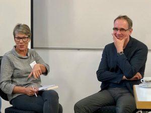 Verband der Freien Lektorinnen und Lektoren auf der ersten skriva in Köln