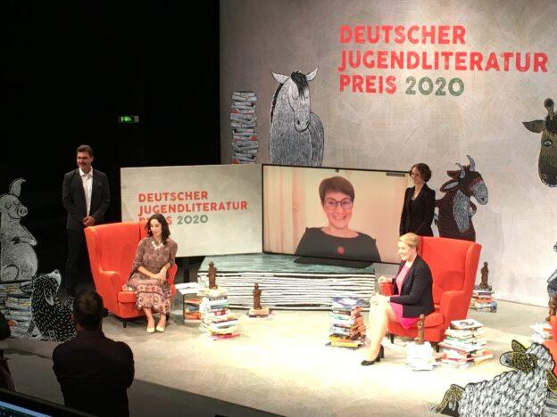 Preisverleihung des Deutschen Literaturpreises 2020